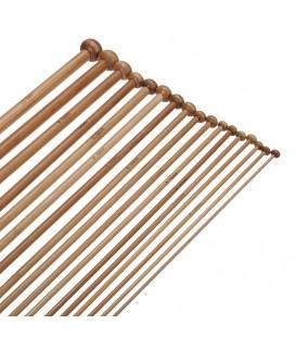 Set agujas de punto - 18 tamaños