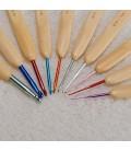 Set agujas de crochet – 10 tamaños