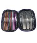 Set  22 agujas de crochet en estuche