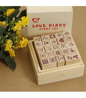 Lote 25 sellos de dibujos - Scrapbooking - Estampación