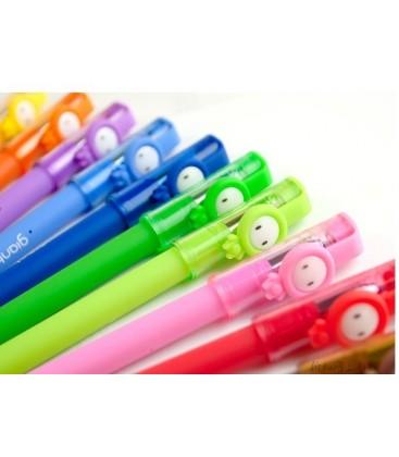 Lote de 12 rotuladores de gel kawaii - Multicolor