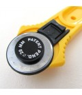 Cutter circular 28 mm para Patchwork - Cuero - Telas - Papel