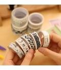 10 piezas de celo japones - Washi Tape - Cinta adhesiva
