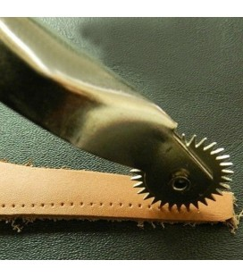 Marcador de puntadas para cuero y piel