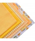 Set de 6 telas Serie Amarilla  - Patchwork  - Costura