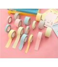 Lote de 5 cintas adhesivas - Masking - Washi Tape