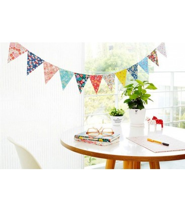 Guirnalda de papel banderines decoraci n fiestas for Diy decoracion cumpleanos