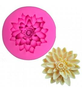 Molde de silicona - Flor 1 - Fondant - Fimo - Sugarcraft - Jabones