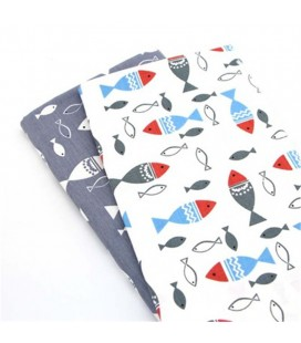 Set de telas coordinadas - Peces - Fat Quarters - Costura - Patchwork - Manualidades