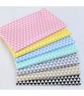 Tela de algodón triángulos - Costura - Manualidades
