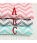 Tela de algodón con motivo zig zag - Costura - Manualidades