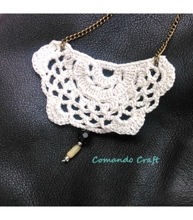 Collar Crochet Vintage - Mod. 1