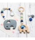Set Mordedor - Colgante Cochecito - Montessori - Juguetes para bebés