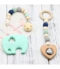 Lote  Mordedor - Colgante Cochecito - Montessori - Juguetes para bebés
