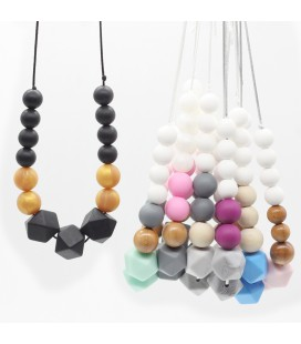 Collares de Lactancia - Mordedores - Montessori - Regalos para bebés y mamás