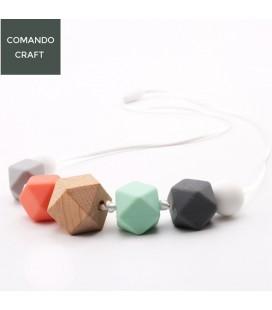 Collar de Lactancia - Mordedores - Montessori - Regalos para bebés y mamás - Mod. 1