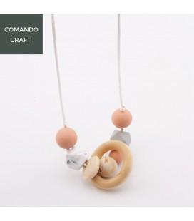 Collar de Lactancia - Mordedores - Montessori - Regalos para bebés y mamás - Mod. 5